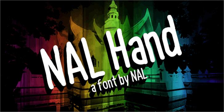 NAL Hand Font sign