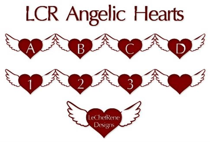 LCR Angelic Hearts Font nintendo