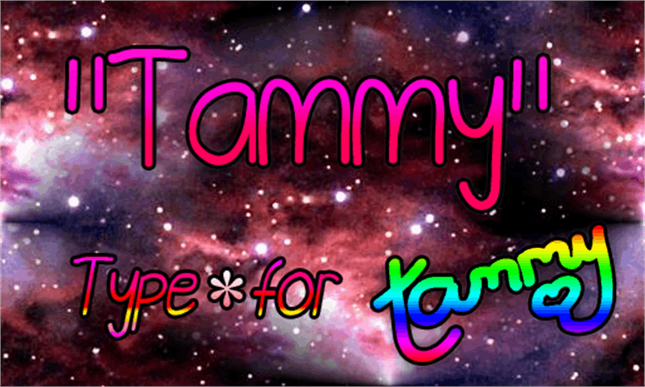 Tammy Font screenshot creativity
