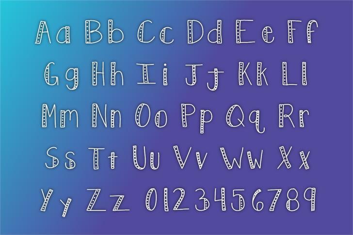 KBPush Font poster