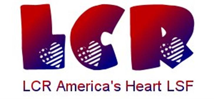 LCR America's Heart LSF font by LeChefRene