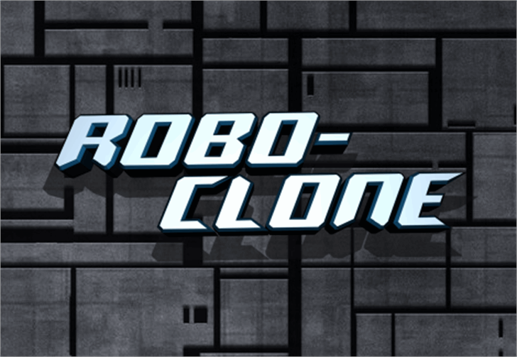 Robo-Clone font by Iconian Fonts