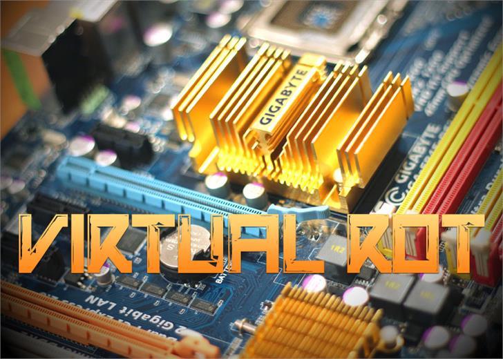 Virtual Rot Font circuit