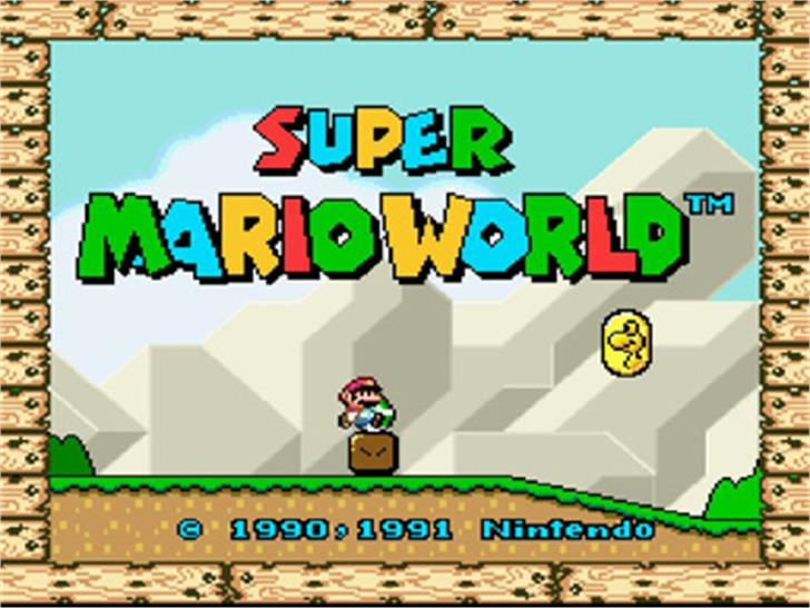 Super Mario Bros. Font screenshot cartoon