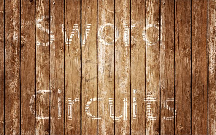 Sword_of_Circuits font by Nouman
