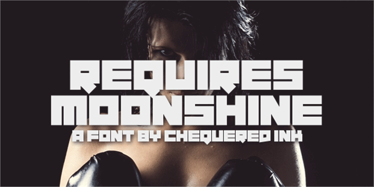 Requires Moonshine font by Chequered Ink