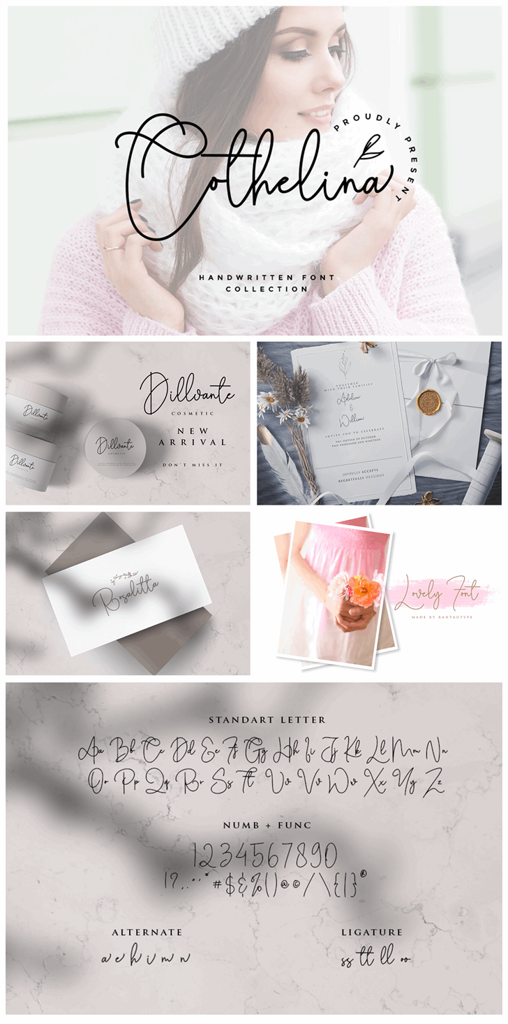 Cothelina Font poster