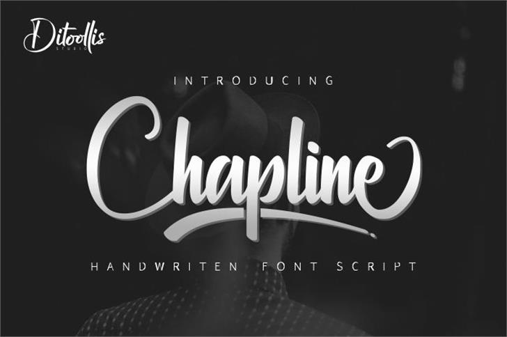 Chapline personal use only Font design text