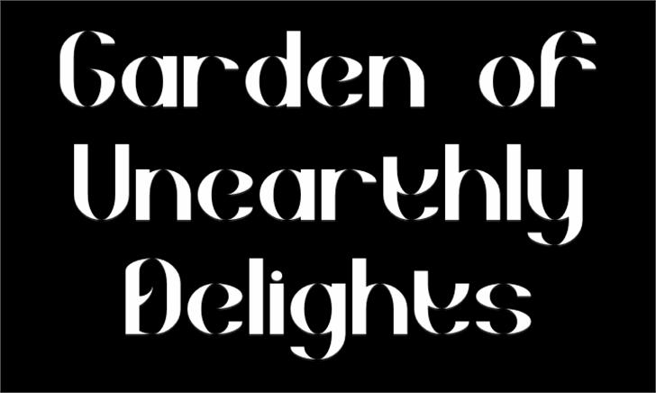 Goud Font text design
