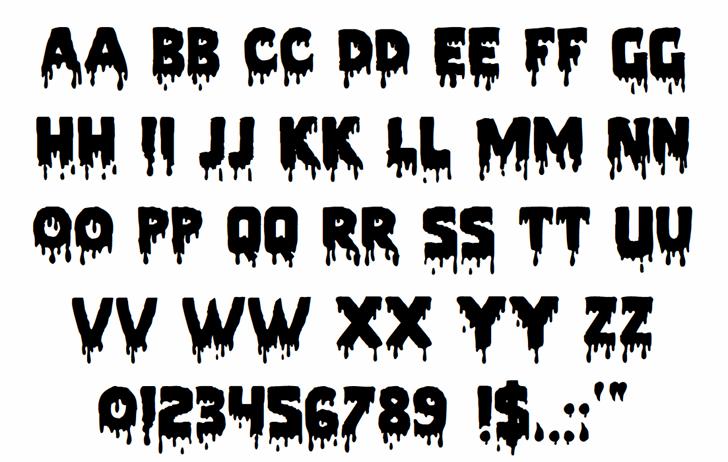 Pieces NFI font by Norfok Incredible Font Design