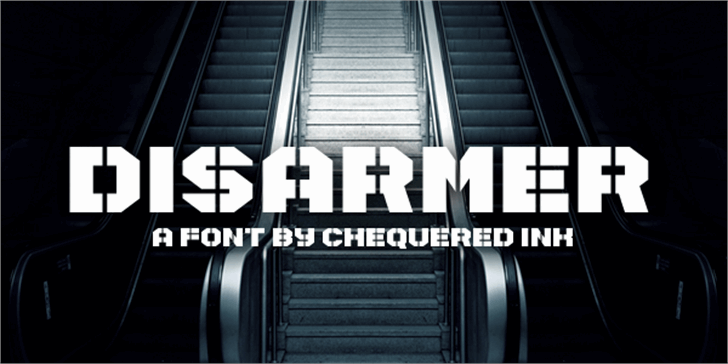 Disarmer font by Chequered Ink