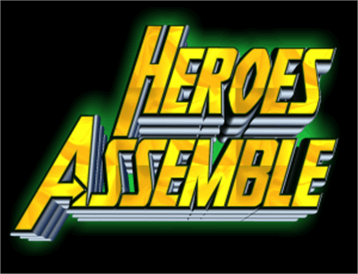 Heroes Assemble font by Iconian Fonts