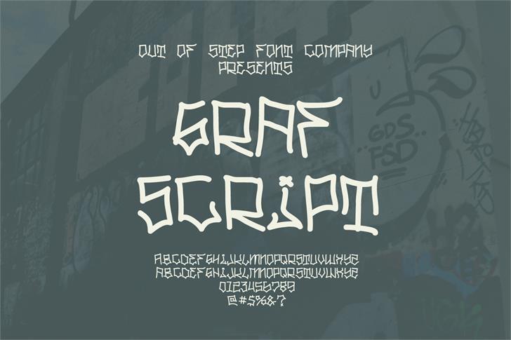 Graf Script Demo Font handwriting