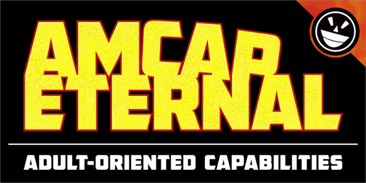 AMCAP Eternal font by the Fontry