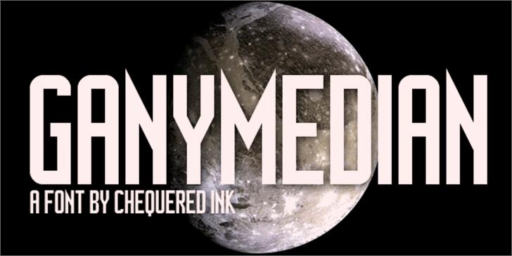 Ganymedian Font moon screenshot