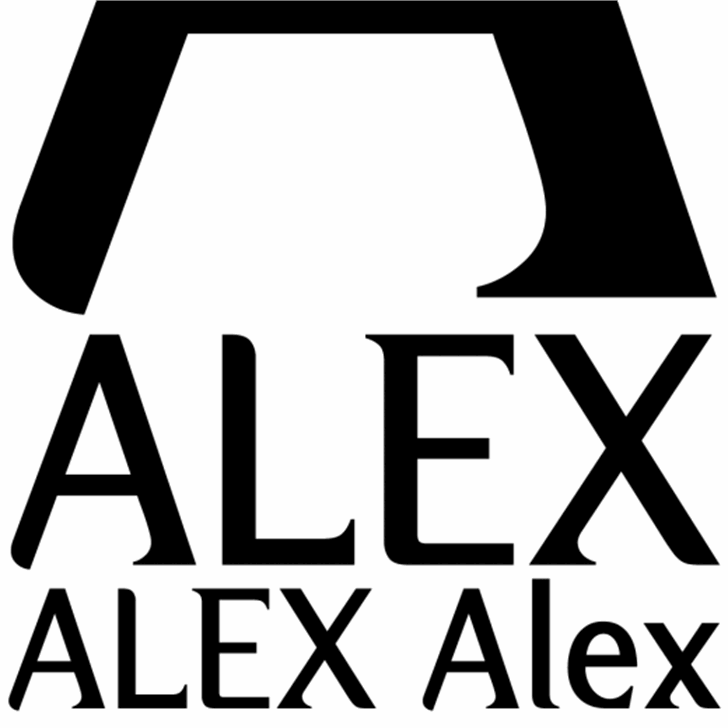 Alex Font design poster