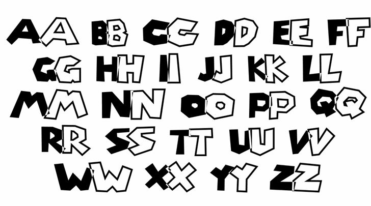 Super Mario Brothers font by The Liquid Plumber