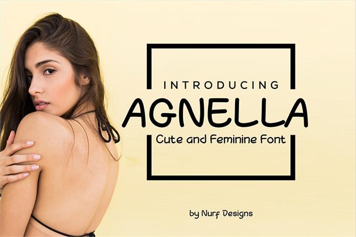 Agnella Font person woman