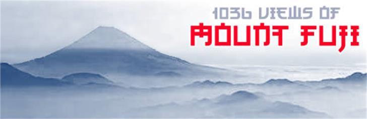 Kato Font mountain fog