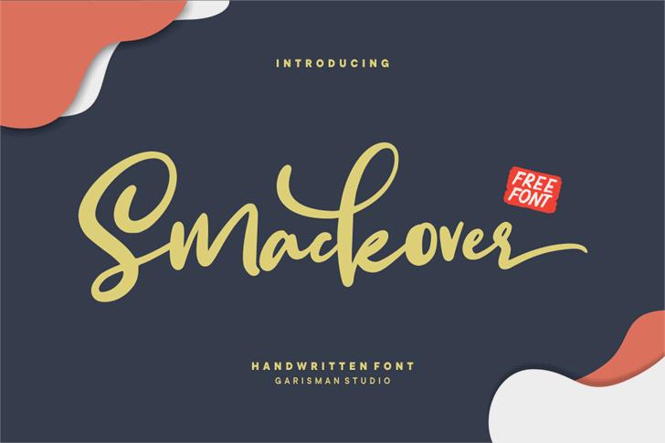 Smackover Font design