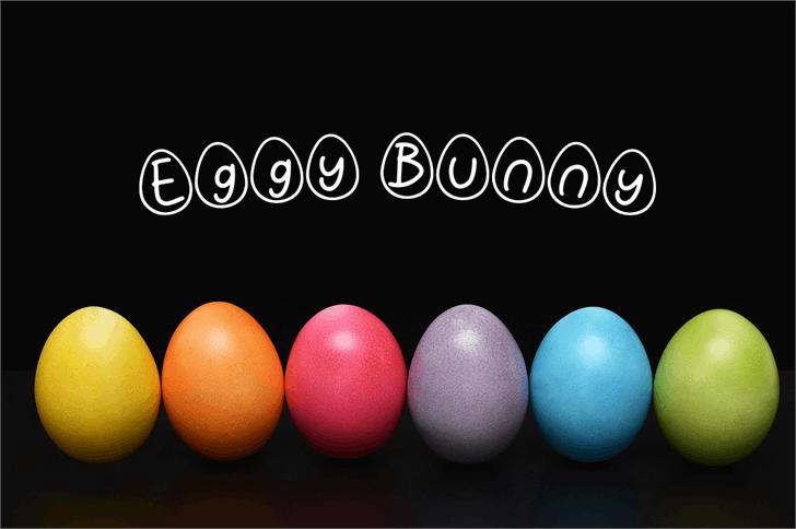 Eggy Bunny font by Attype Studio