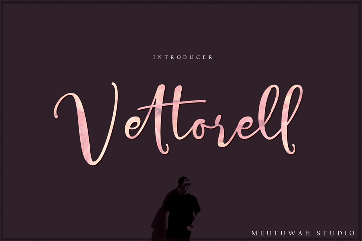 Vettorell free font by Meutuwah