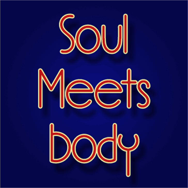 Soul Meets Body Font design typography