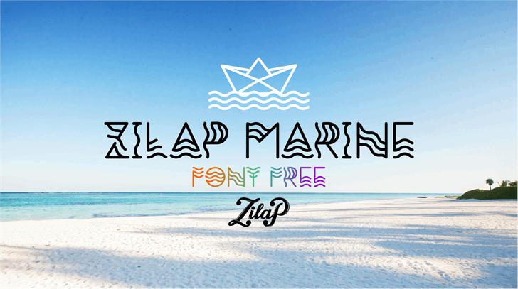 Zilap Marine Font sky outdoor