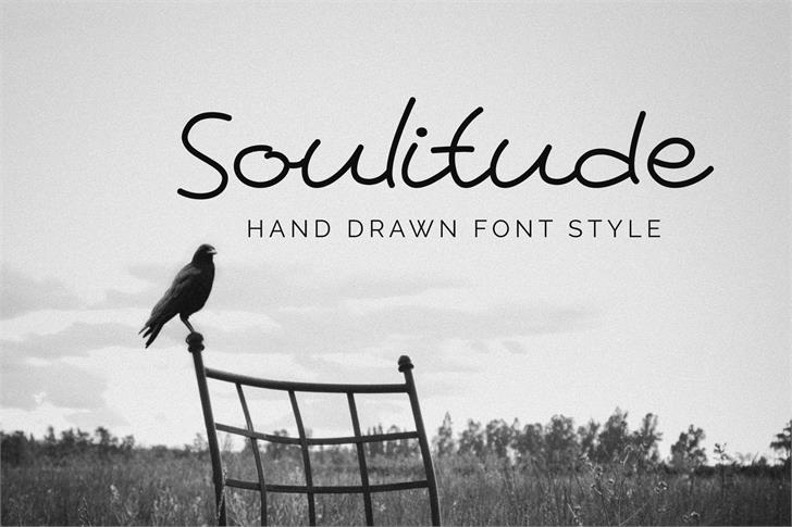 Soulitude Font outdoor bird