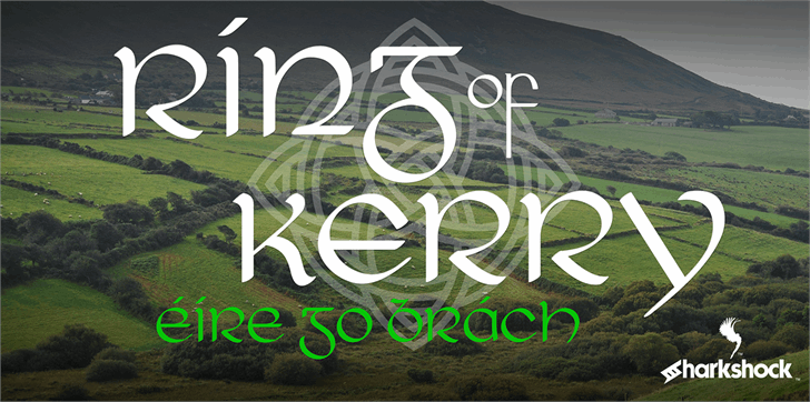 Ring of Kerry font by sharkshock