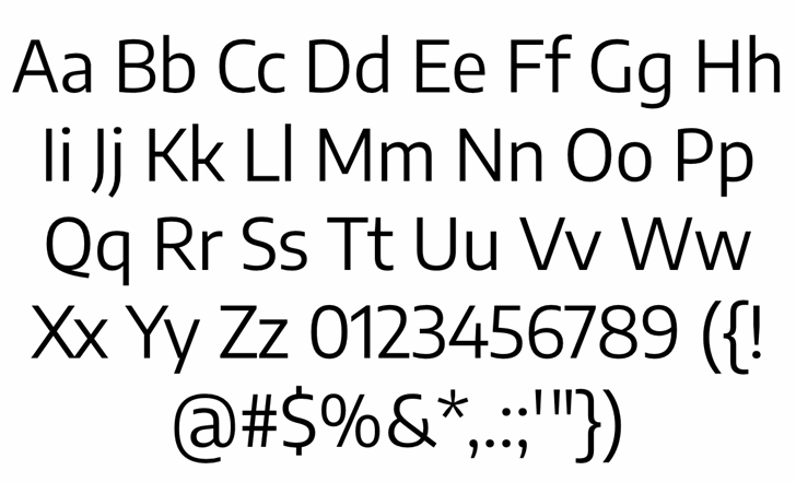 Encode Sans Regular Font Letters Charmap