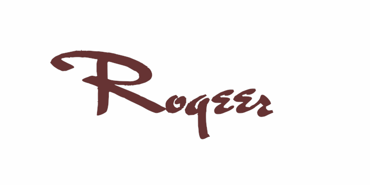 Rogeer font by Intellecta Design