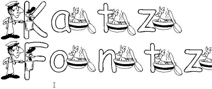 KG CHICKEN SOUP font by Katz Fontz