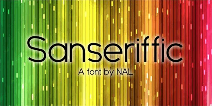 Sanseriffic Font music organ