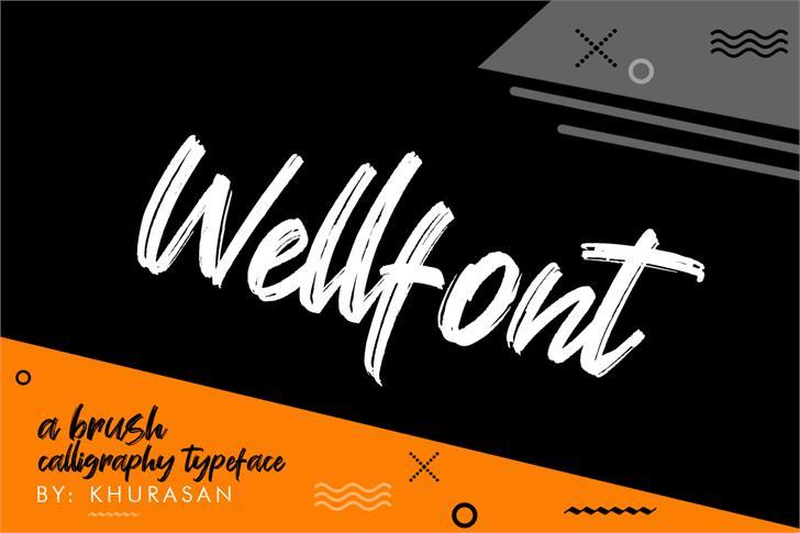 Wellfont design