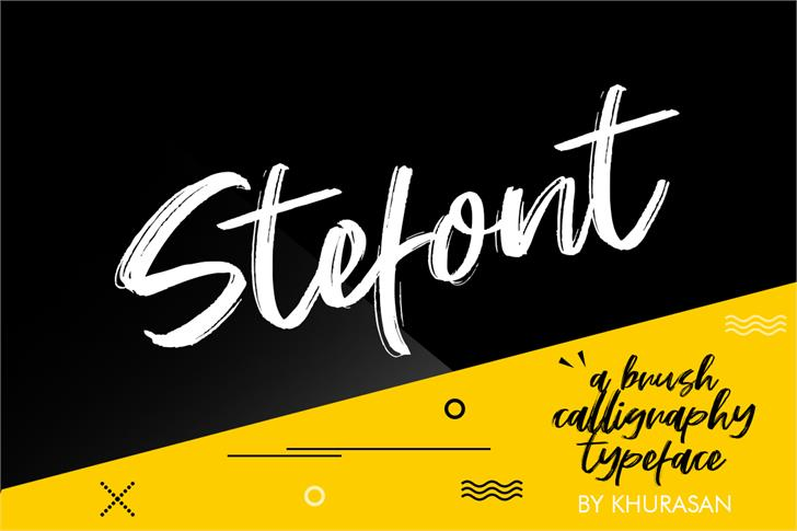 Stefont poster