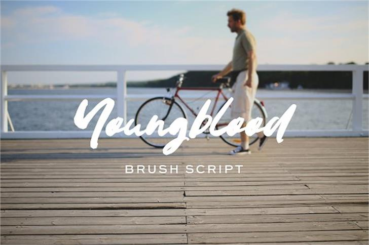 Youngblood Font sky outdoor