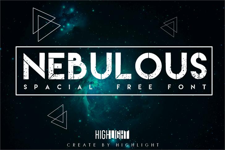 Nebulous font by pobrenerd