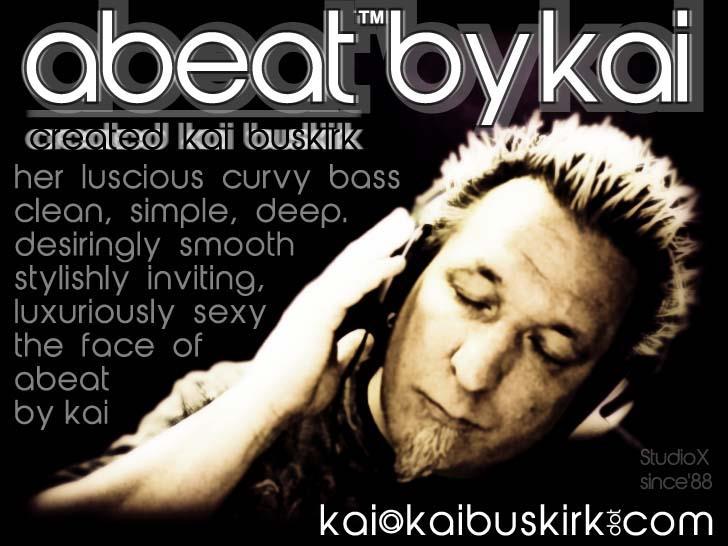 abeatbyKai Font poster text