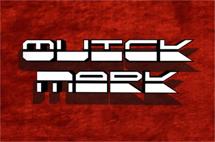 QuickMark Font screenshot
