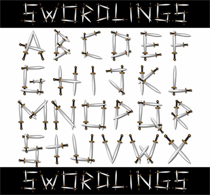 Swordlings font by 404maciej