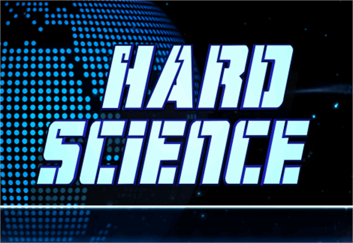 Hard Science Font screenshot