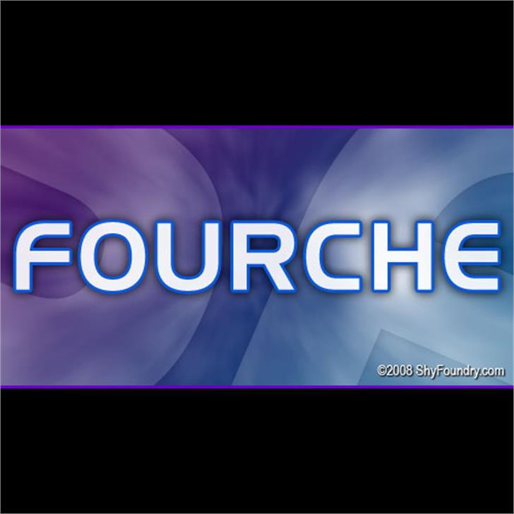 SF Fourche font by ShyFoundry