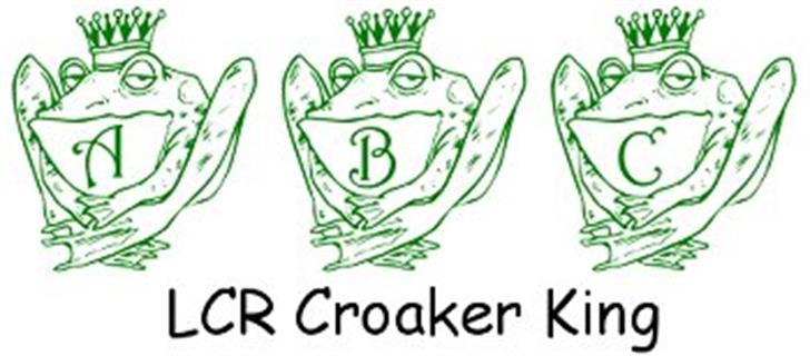 LCR Croaker King font by LeChefRene