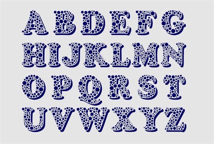Bemydor font by Eva Barabasne Olasz