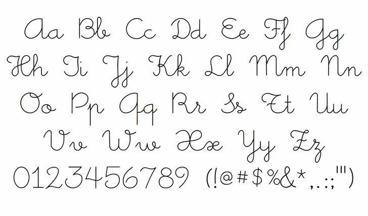Little Days font by West Wind Fonts