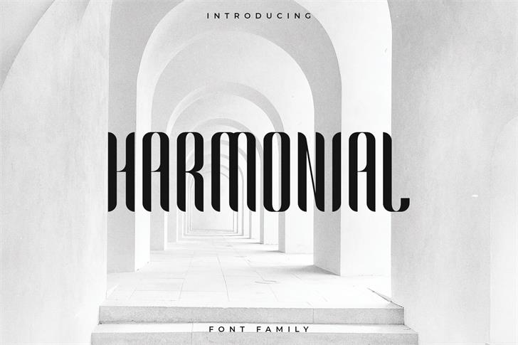 Harmonial font by RC graphics