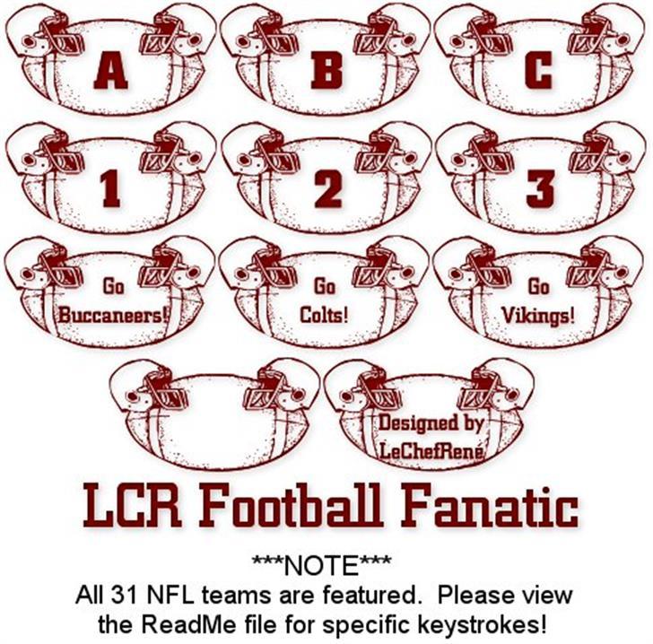 LCR Football Fanatic Font nintendo