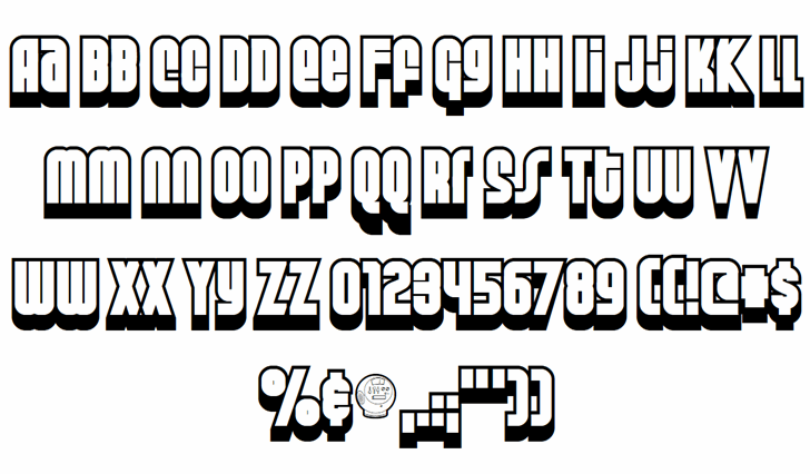 Weltron Special Power font by Font-a-licious