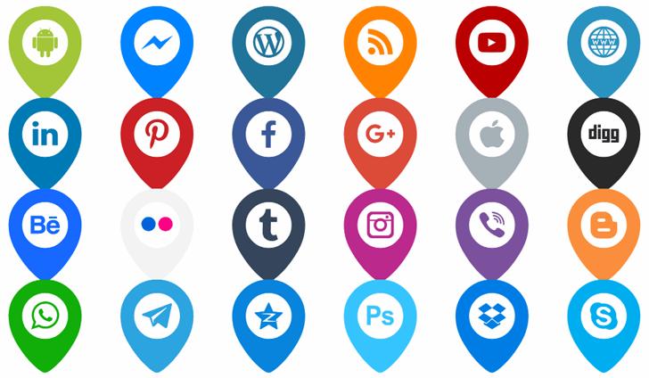 Icons Font Color font by elharrak